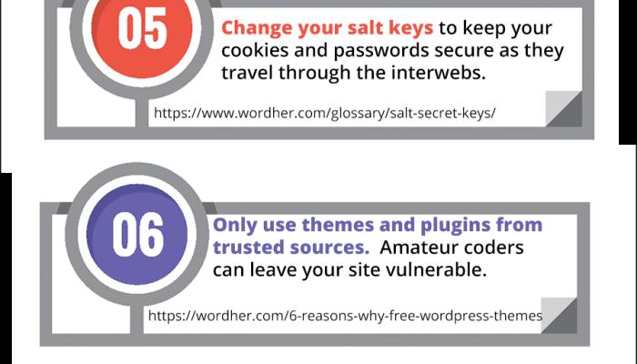Simple Wordpress Security Tips